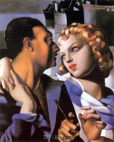 Idyll, 1931 | Lempicka | Painting Reproduction