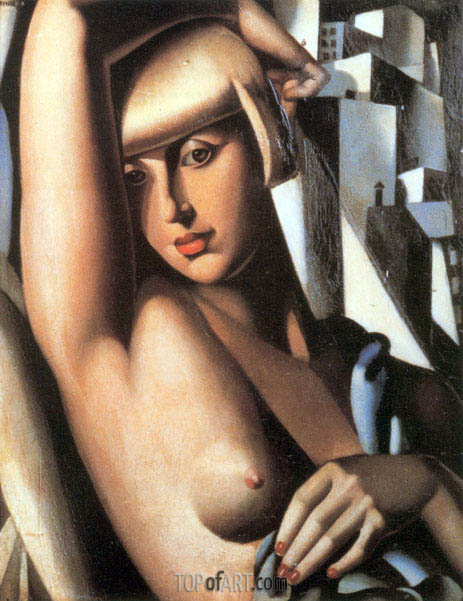 Portrait of Suzy Solidor, 1933 | Lempicka | Painting Reproduction
