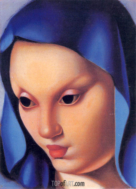 Madonina, c.1934 | Lempicka | Painting Reproduction