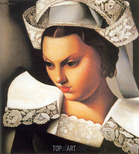 Lempicka | The Breton Girl, 1934