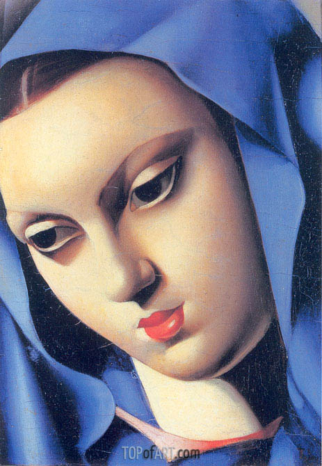 The Blue Virgin, 1934 | Lempicka | Painting Reproduction