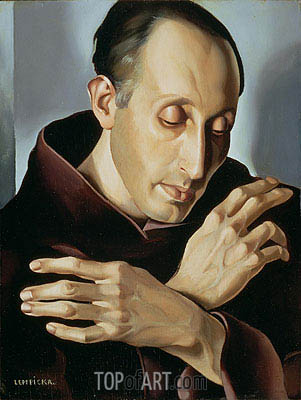 Saint Anthony, c.1936 | Lempicka | Painting Reproduction