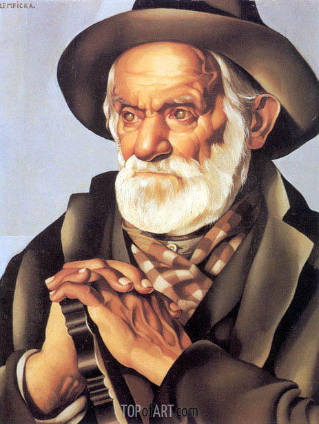 The Peasant Man, c.1937 | Lempicka | Painting Reproduction