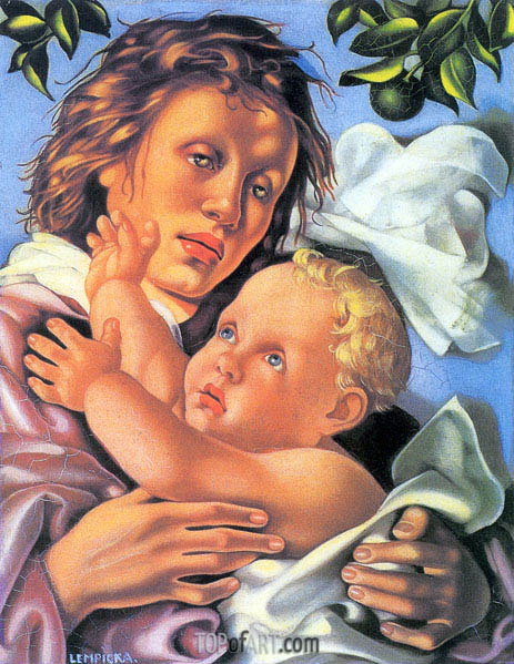 Quattrocento, 1937 | Lempicka | Painting Reproduction