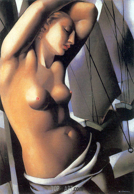 The Blue Hour, 1931 | Lempicka | Painting Reproduction
