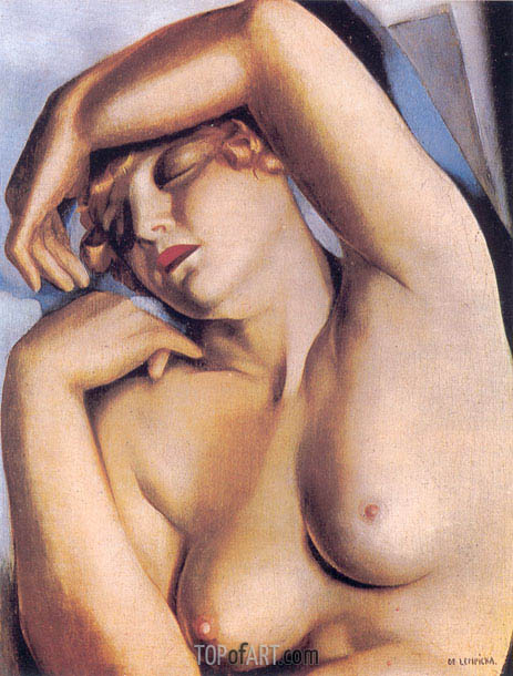 Lempicka | Sleeping Girl, c.1930