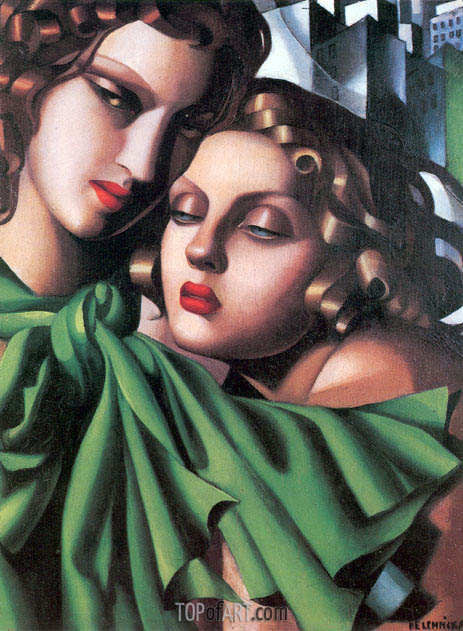 The Girls, c.1930 | Lempicka | Gemälde Reproduktion
