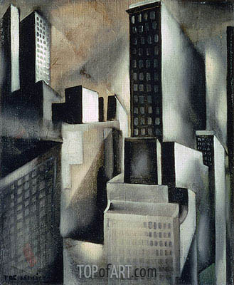 New York, c.1929 | Lempicka | Gemälde Reproduktion
