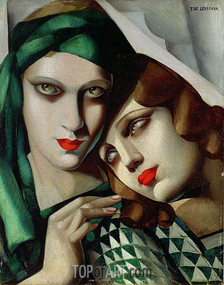The Green Turban, 1929 | Lempicka| Painting Reproduction