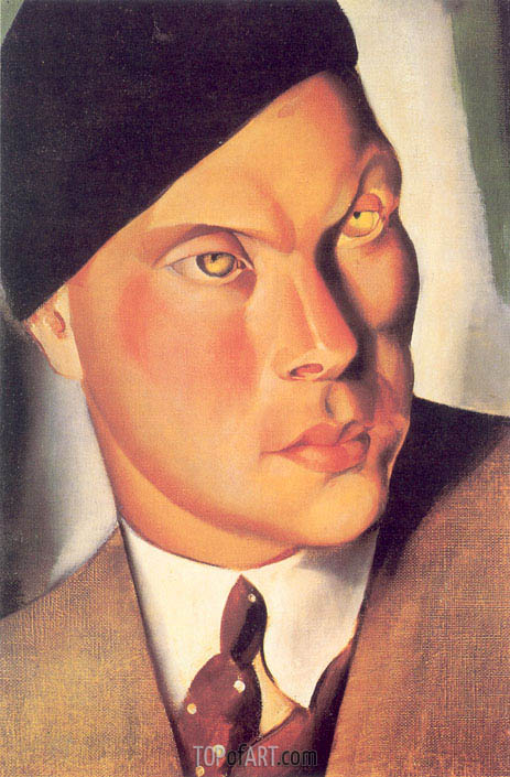 Portrait of the Count of Furstenberg Herdringen, 1928 | Lempicka | Painting Reproduction