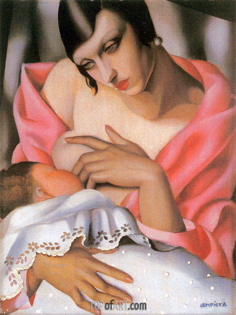 Lempicka | Maternity, 1928