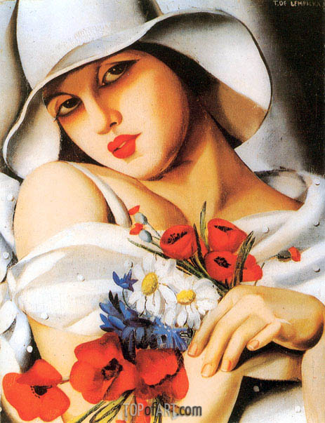 High Summer, 1928 | Lempicka | Painting Reproduction