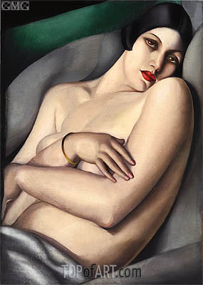 The Dream, 1927 | Lempicka | Painting Reproduction