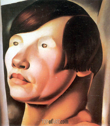 Lempicka | Head of Slavic Woman, c.1925