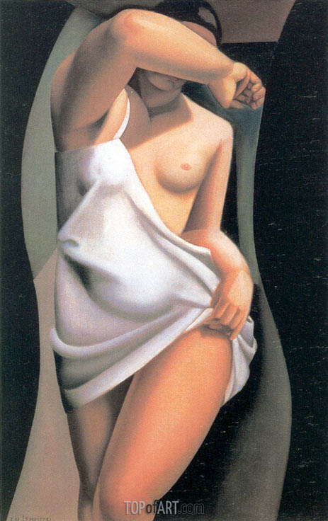 The Model, 1925 | Lempicka | Gemälde Reproduktion