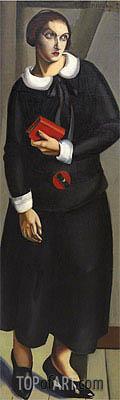 Lempicka   Woman in Black Dress, 1923