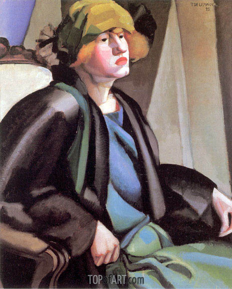 The Gypsy, c.1923 | Lempicka | Gemälde Reproduktion