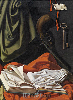 The Key, c.1946 | Lempicka | Painting Reproduction
