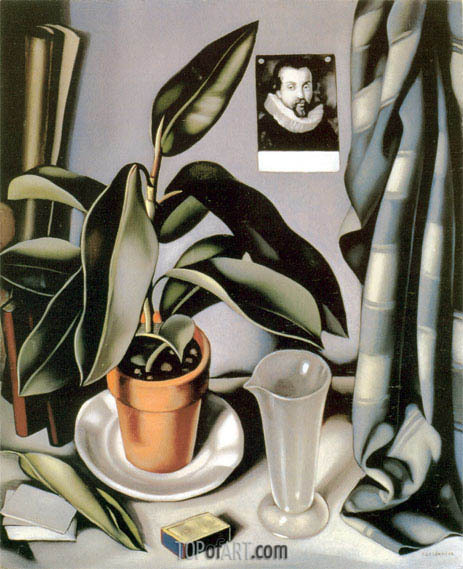 Succulent and Flask, c.1941 | Lempicka | Painting Reproduction