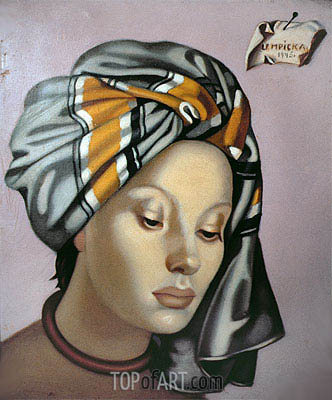 Lempicka | The Grey Turban, 1945
