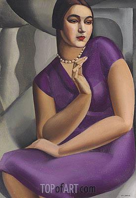Lempicka | Portrait of Duchesse de Valmy, 1924