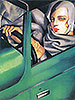 Autoportrait (Tamara in the Green Bugatti) | Tamara de Lempicka (inspired by)