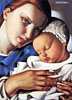 Mother and Child | Tamara de Lempicka (inspired by)