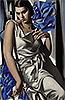 Portrait of Mrs M   Tamara de Lempicka (inspired by)