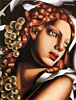The Brilliance | Tamara de Lempicka (inspired by)
