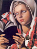 The Polish Girl | Tamara de Lempicka (inspired by)