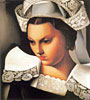 The Breton Girl | Tamara de Lempicka (inspired by)