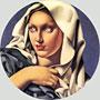 Madonna | Tamara de Lempicka (inspired by)