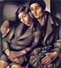 The Refugees | Tamara de Lempicka (inspired by)
