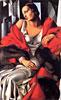 Portrait of Mrs Boucard   Tamara de Lempicka (inspired by)