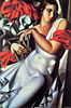 Portrait of Ira P | Tamara de Lempicka (inspired by)