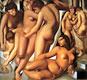 Women Bathing   Tamara de Lempicka (inspired by)