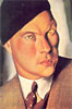 Portrait of the Count of Furstenberg Herdringen | Tamara de Lempicka (inspired by)