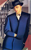 Portrait of the Marquis d'Afflito (On a Staircase) | Tamara de Lempicka (inspired by)