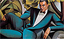 Portrait of the Marquis d'Afflito | Tamara de Lempicka (inspired by)
