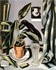 Succulent and Flask | Tamara de Lempicka (inspired by)