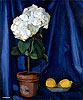 Bouquet of Hortensias and Lemon | Tamara de Lempicka (inspired by)