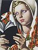 La Polonaise | Tamara de Lempicka (inspired by)