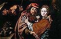 Jacob and Rebecca (Conception of Saint Anne) | Tanzio da Varallo