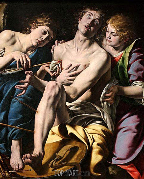 Saint Sebastian, c.1620/30 | Tanzio da Varallo | Painting Reproduction