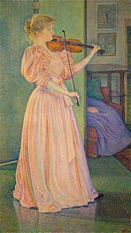 Irma Sethe, 1894 by Rysselberghe | Painting Reproduction