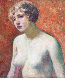 Bust of a Young Girl, 1914 by Rysselberghe | Painting Reproduction