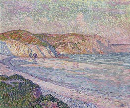 Morgat Beach, 1904 by Rysselberghe | Painting Reproduction