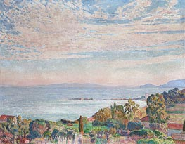 Saint Clair Bay, 1923 by Rysselberghe | Painting Reproduction