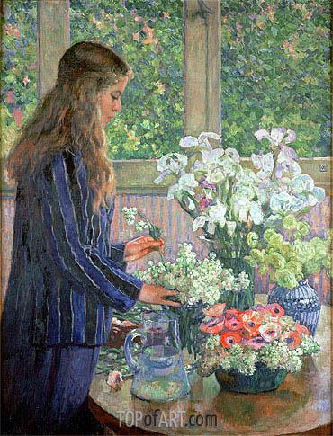 Rysselberghe | Garden Flowers, undated