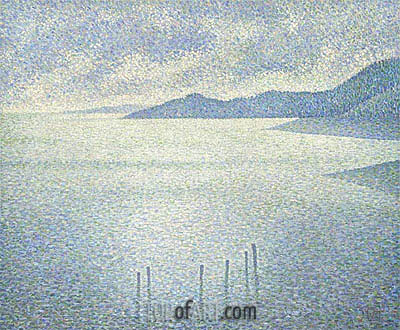 Coastal Scene, c.1892 | Rysselberghe| Painting Reproduction